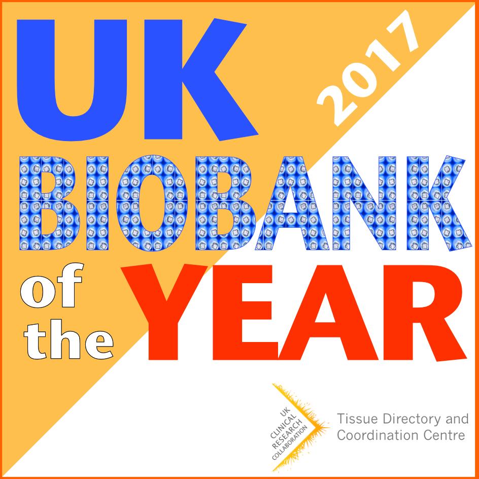 Biobank of the year logo